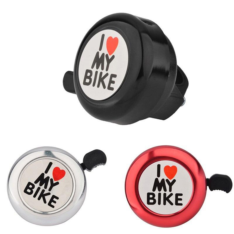 Cycling Bike Bicycle Handlebar Mechanical Aluminum Bell Ring Crisp Loud Horn