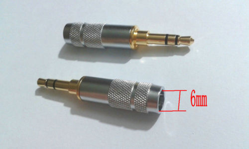 NA 20 Pieces 3-Pole Female 3.5mm Socket Jack for Headphones Connector Welding