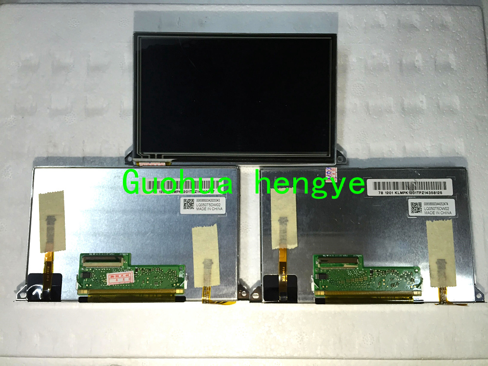 "LQ050T5DW02 5/"" inch LCD display screen Fit for Automotive Navigation LCD Panel"