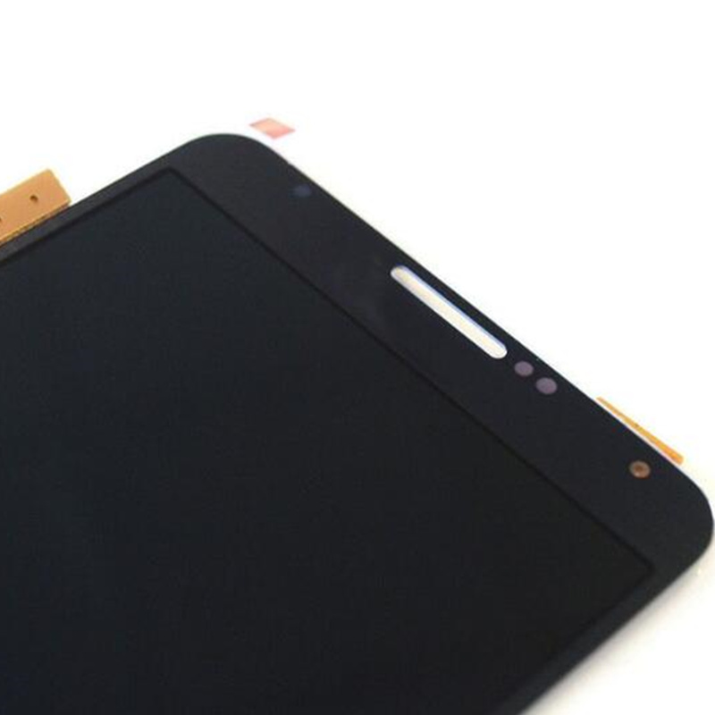 YBLHZPSH LCD Display Color : White Q Touch Panel with Frame for Galaxy Note III // N900V Black