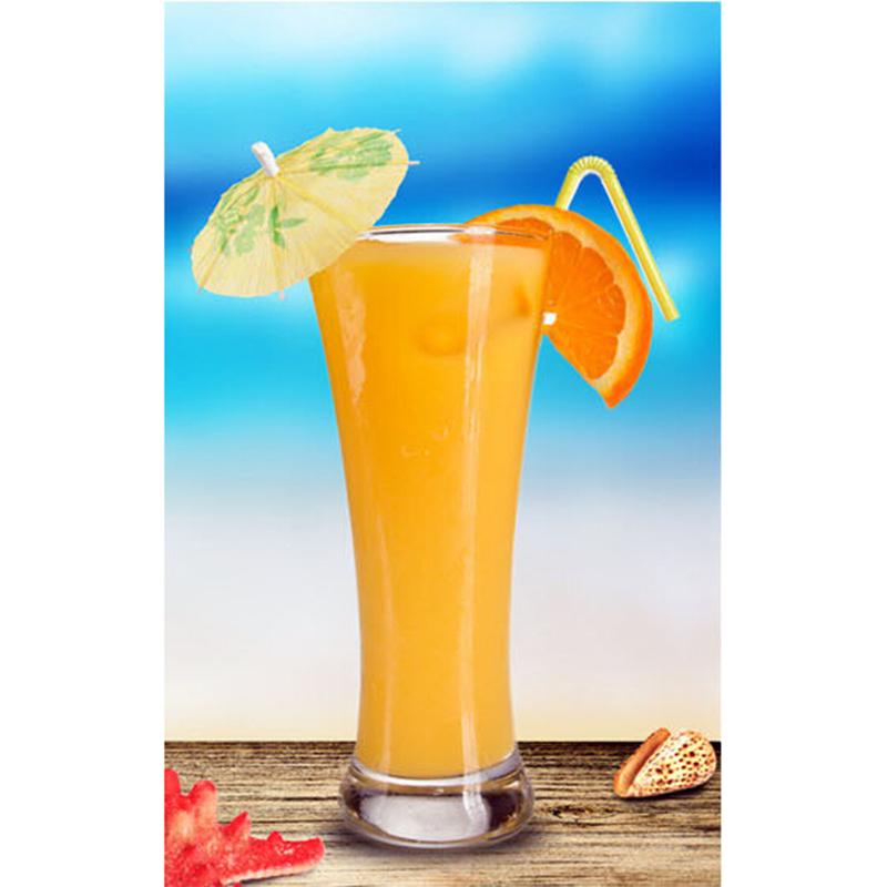 3D Cure-Dents Parapluie 144 Pcs Cake Topper Pick Hawaii Luau Party Decor Cocktail B/âton Parapluie Fruit Aliments Pick