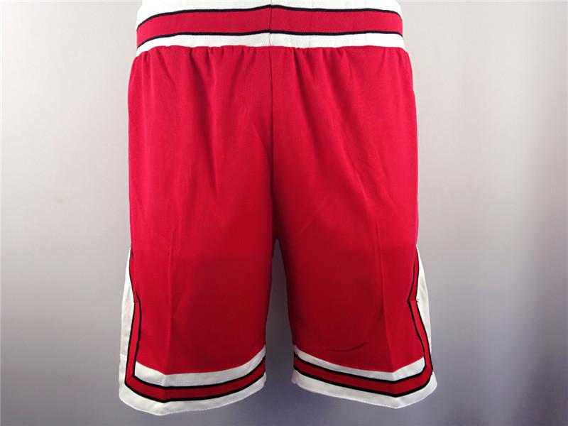 Pantaloni Corti da Uomo Neri Pantaloni Corti in Nylon Allentato da Spiaggia NBA Michael Training Running Color : L