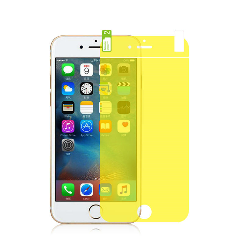 Full-Cover-Screen-Protector-Film-for-iPhone-6-6s-Ultra-Thin-TPU-Gold-Protective-Layer-Clear (1)