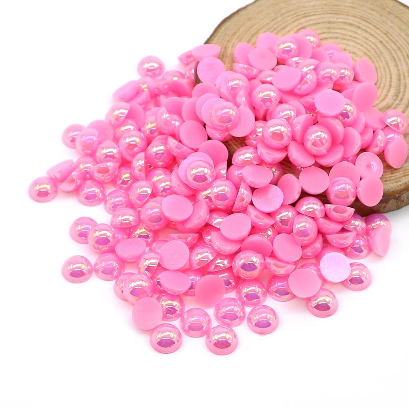 20 pieza de madera perlas rosa pálido 24 mm perlas cadenas para chupetes saliva bricolaje