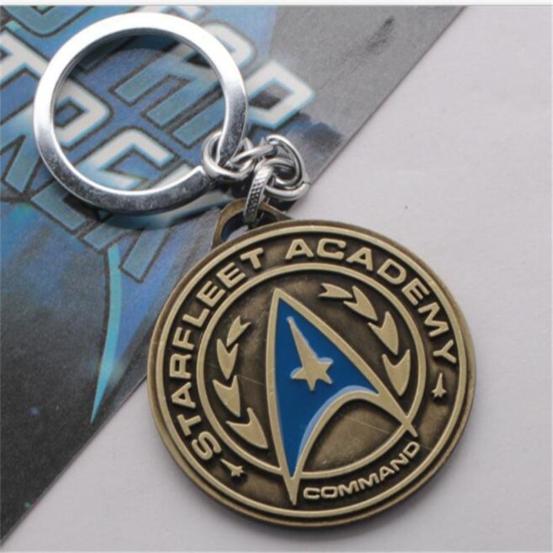 Star Trek Spaceship Enterprise Metal Keychain Key Ring Pendant Hot Movie gift A