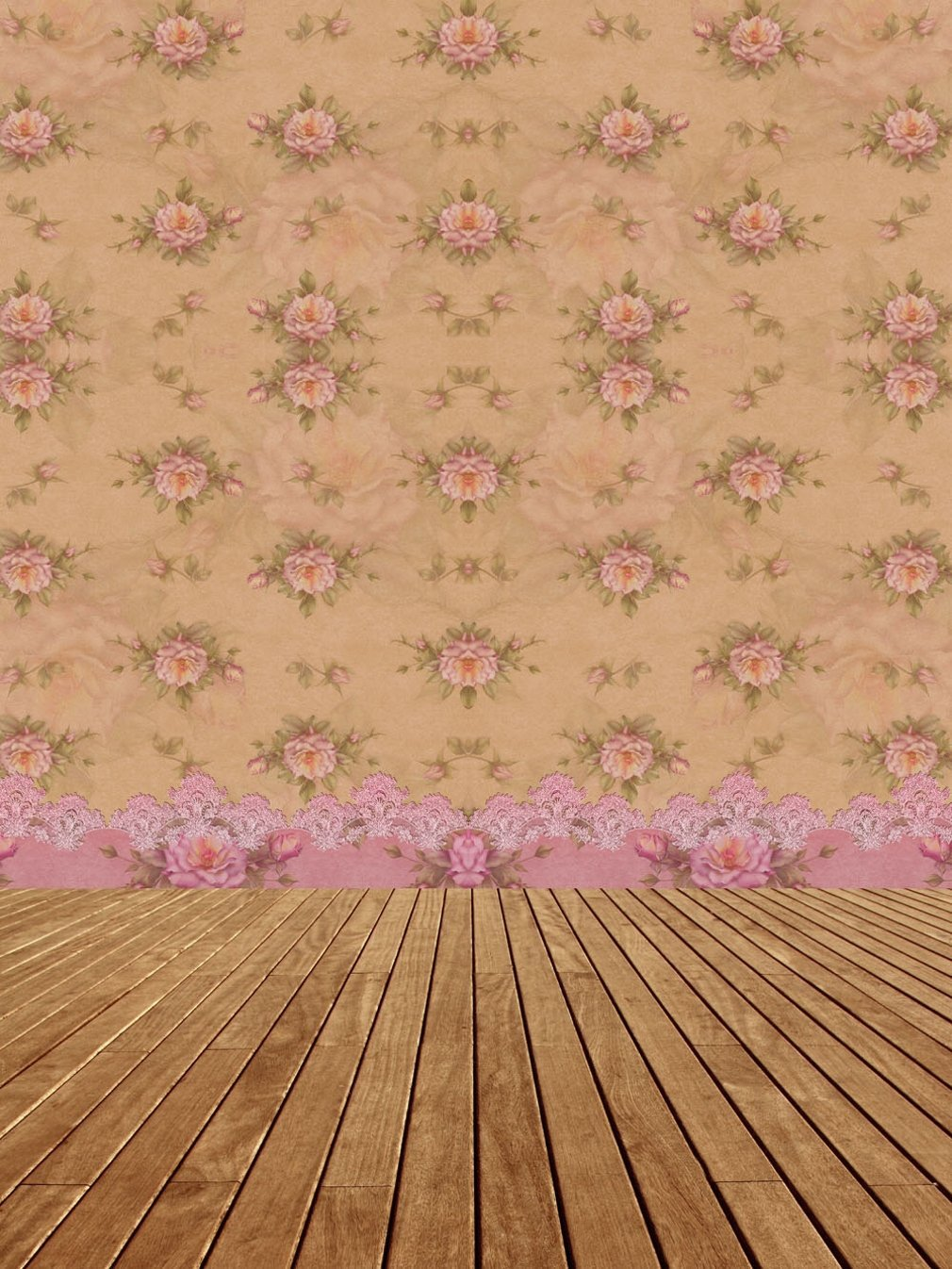 8x10 FT Photography Backdrop Classical Retro Style Victorian Damask Arabesque Oriental Effects Image Background for Baby Shower Birthday Wedding Bridal Shower Party Decoration Photo Studio