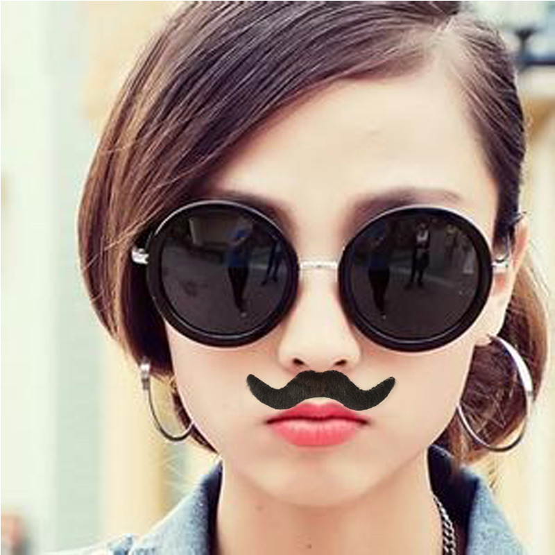Halloween Party Costume Fake Mustache Moustache Funny Fake Beard Whisker Party Costume for Adult Kids Toys