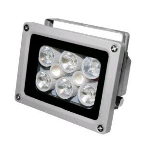 4 LED IR Infrarot Licht Scheinwerfer Nachtsicht überwachungskamera CCTV DC12V 2A