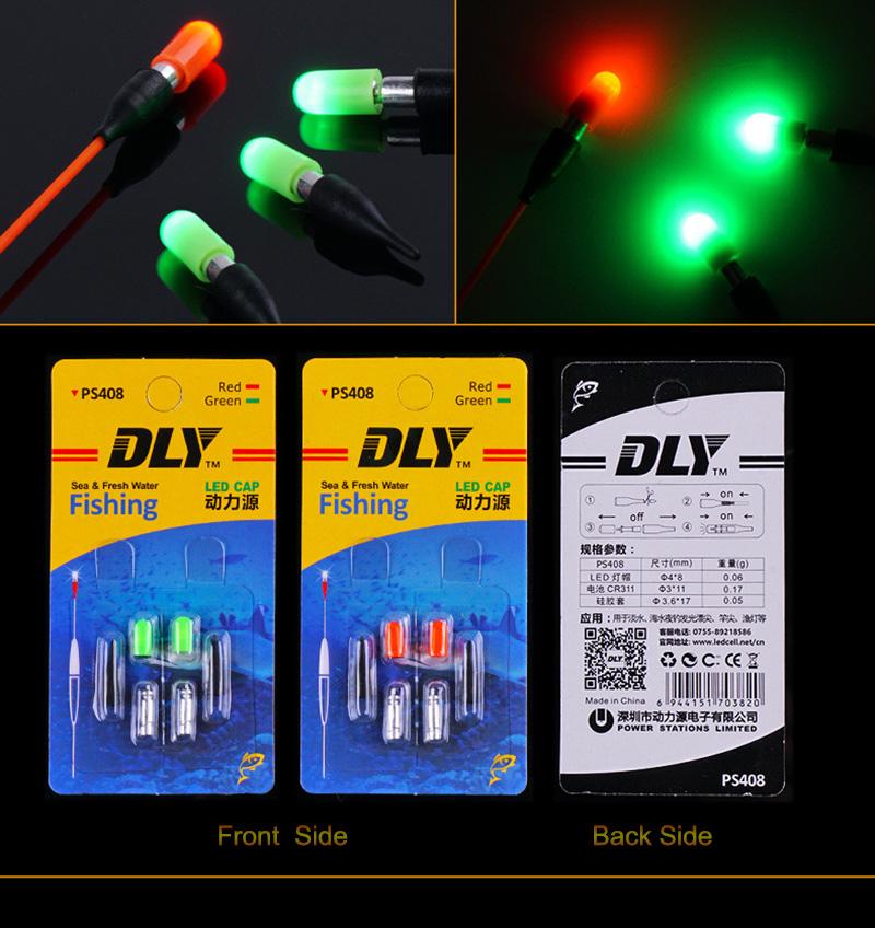 1pc LED Electronic Fishing Float Luminous Fishing Buoy Night Fishing Tackle!IBO