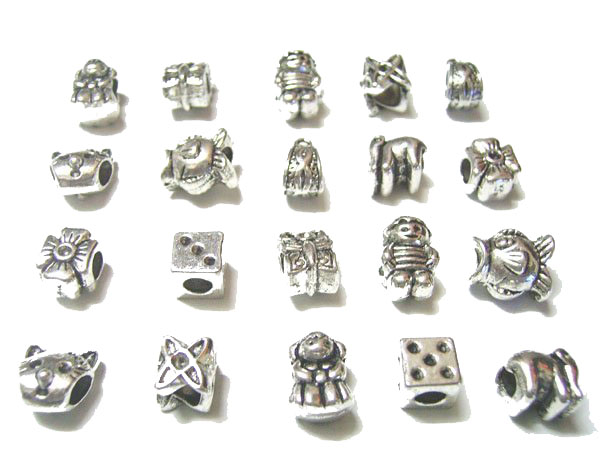 Spike Screw On Studs Silver Tone Metal Alloy 7x9mm 10 Pcs Findings Jewellery
