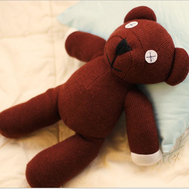 Mr Bean Teddy Bear Animal Stuffed Plush Toy Soft Cartoon Brown Toys 1pc 23cm