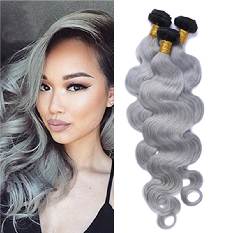 Short Ombre Silver Hair Online Shopping Buy Short Ombre Silver Hair At Dhgate Com