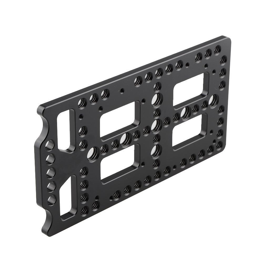 Camvate Batería Tablero quesos placa 15mm Varilla Abrazadera Adaptador Kit Para Cámara Rig