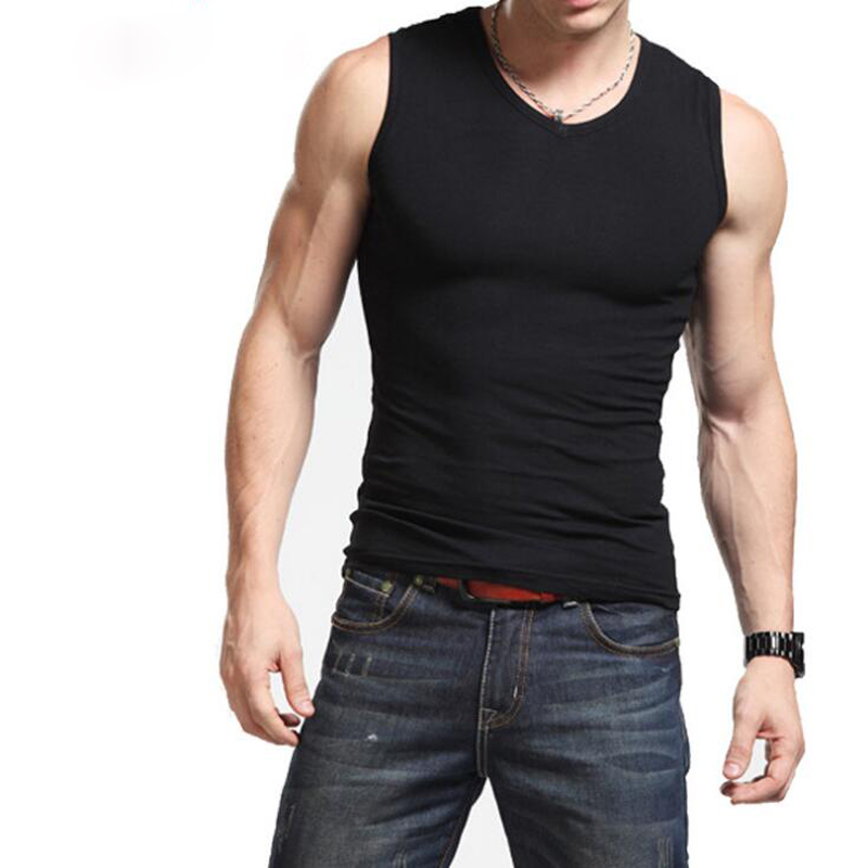 Coletes De Compressão Masculina Camiseta Base Layer sem mangas colete camisa Top Térmica Sob