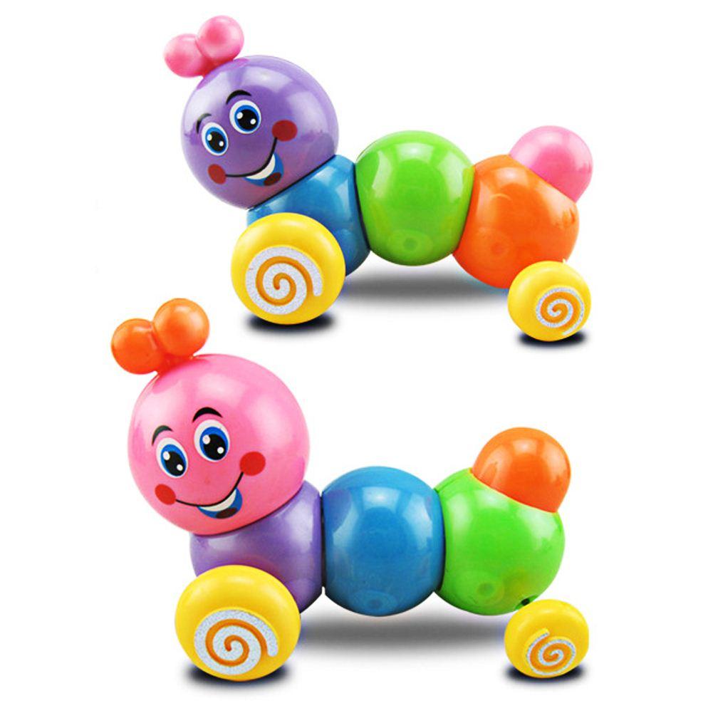 Bunte Inchworm-weiche Raupe-reizende Entwicklungs-Kind-Baby-Spielzeug-Puppe YR