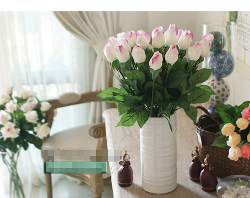 Fresh Rose Artificial Flowers Real Touch Rose Flowers Home Decorative Flowers Wedding Decoration Rose