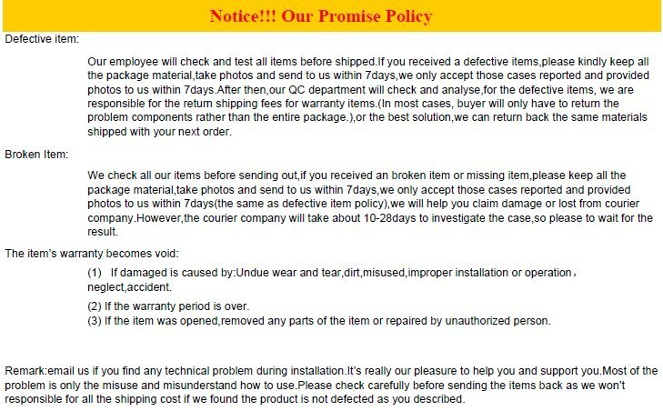 promise policy