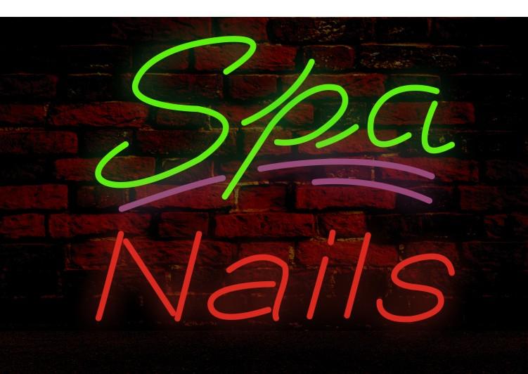 nba room decor.htm 2020 spa nails neon sign real glass tube bar store business  neon sign real glass tube