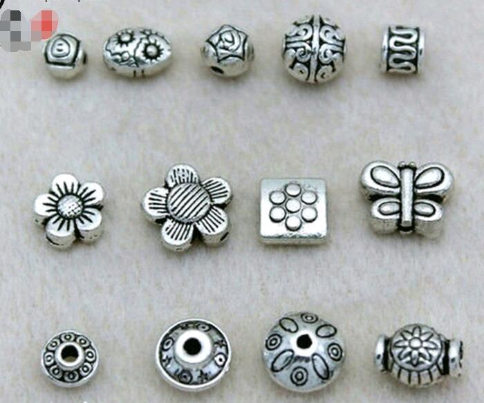300PCS Tibetan Silver daisy spacer beads 7mm FC346