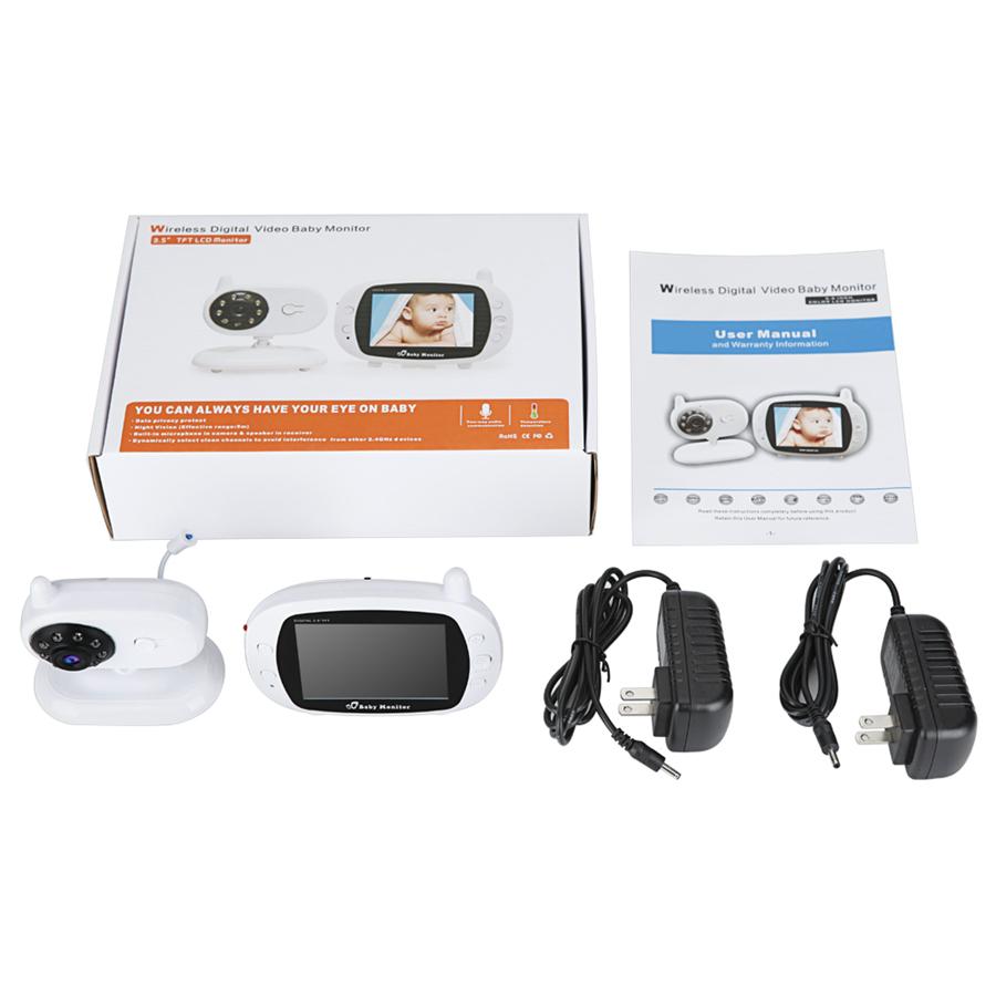 Großhandel 3,5 zoll Wireless Video Farbe Baby Monitor Hohe Auflösung ...
