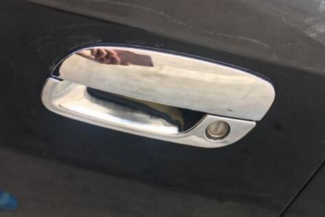 Luxury ABS Chrome Car Open Door Handle Cover Trim For Hyundai Tucson 2005-2009