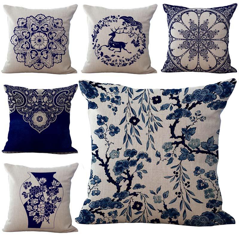 Blue octopus housses de coussin taies d/'oreiller home decor ou intérieur