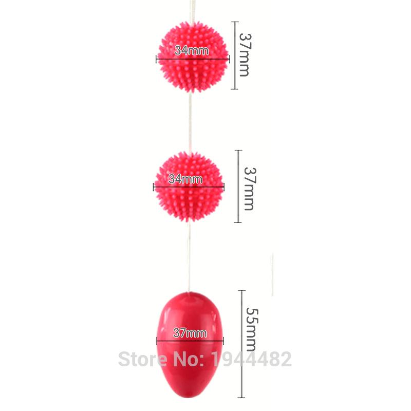Vaginal Tight Exercise Adult Sex Products For Women Ben Wa Balls Kegel Balls Female Stimulator Vaginal/Anal Massager Erotic Toys