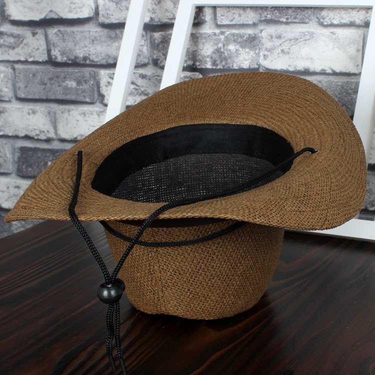 Fashion Wide Brim Straw Hats Man Women Cowboy Hats multicolor casual Beach Caps Panama Hat
