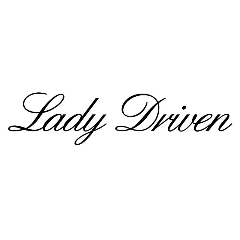 Lady impulsado por pequeñas y grandes pegatinas personalizadas de vinilo Parabrisas Ventana de Coche Calcomanías