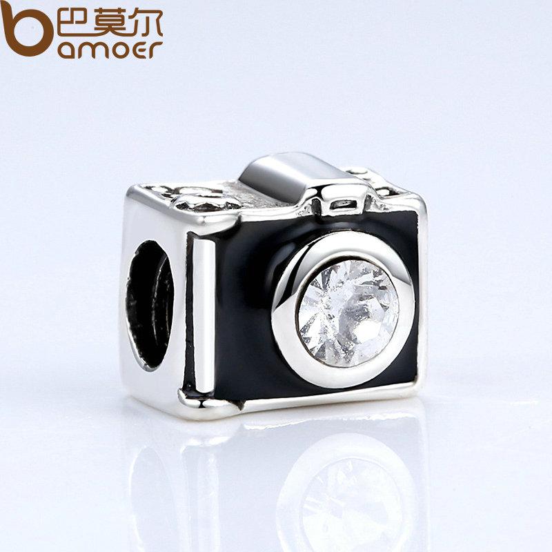 pandora charm originali macchina fotografica