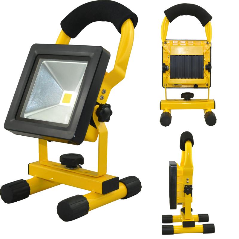 20W USB COB LED LAMPADA SPOT FLOOD Portatile Lavoro Campeggio Triangolo SPIA NUOVO