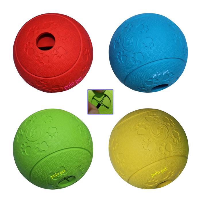 700 rubber treat ball