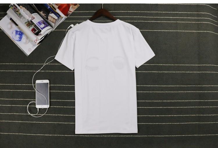 Fashion Summer Cotton Women T Shirts Chiara Ferragni Big Eyes Embroidery Sequins Loose Style T Shirts Women Casual Tops CS32