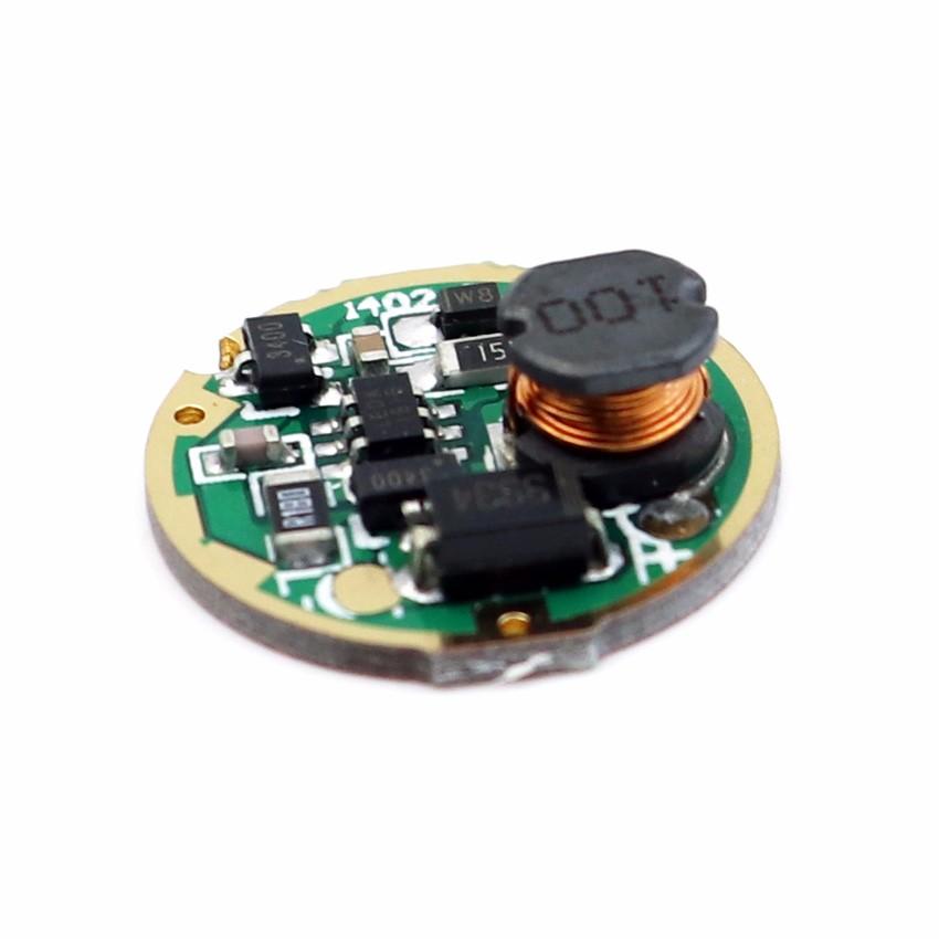 1 Mode 3V-18V 2 A Lampe de poche Driver Circuit Board 20 mm CREE XM-L DEL T6 Ampoule
