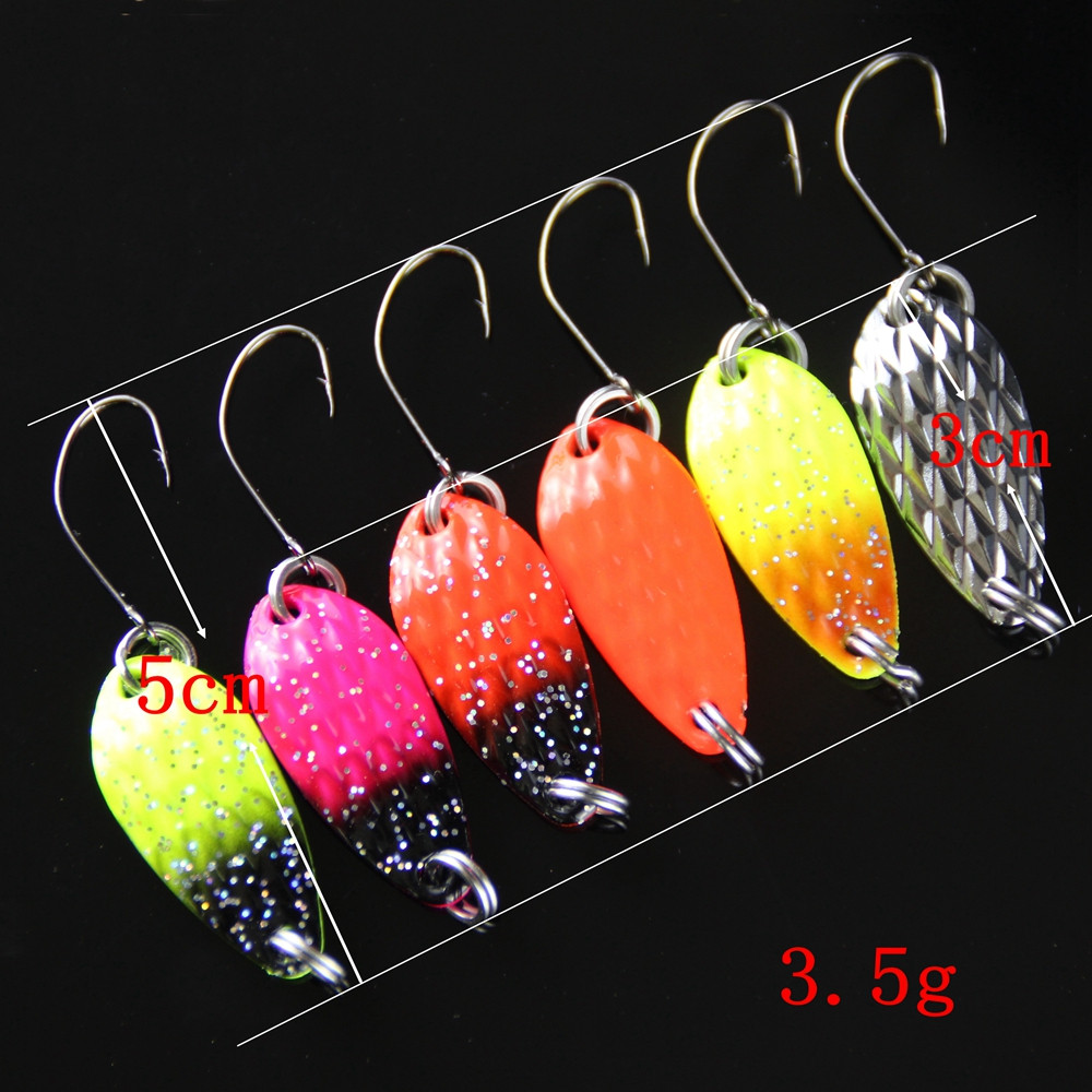 20pcs Metal Fishing Spoon Lure Jig Bait 3.5g Spoons Lures Bait-Artificial Bass Fishing Spinners Fish Supplies Pesca Sport (2)