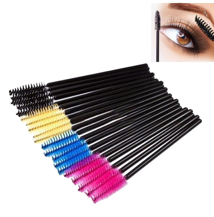 DHgate coupon: mascara wand brush for eyelash extension soft eyebrow brush Eyelashe Brushes Makeup Applicator Extension Disposable Brushes KKA2012