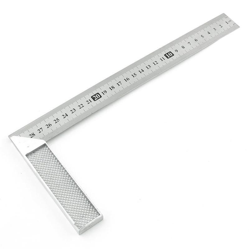 12 Combinaison Rapporteur Tri-Square Angle Ruler machiniste outil de mesure Hot