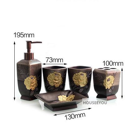 Bathroom Accessories Sets 10