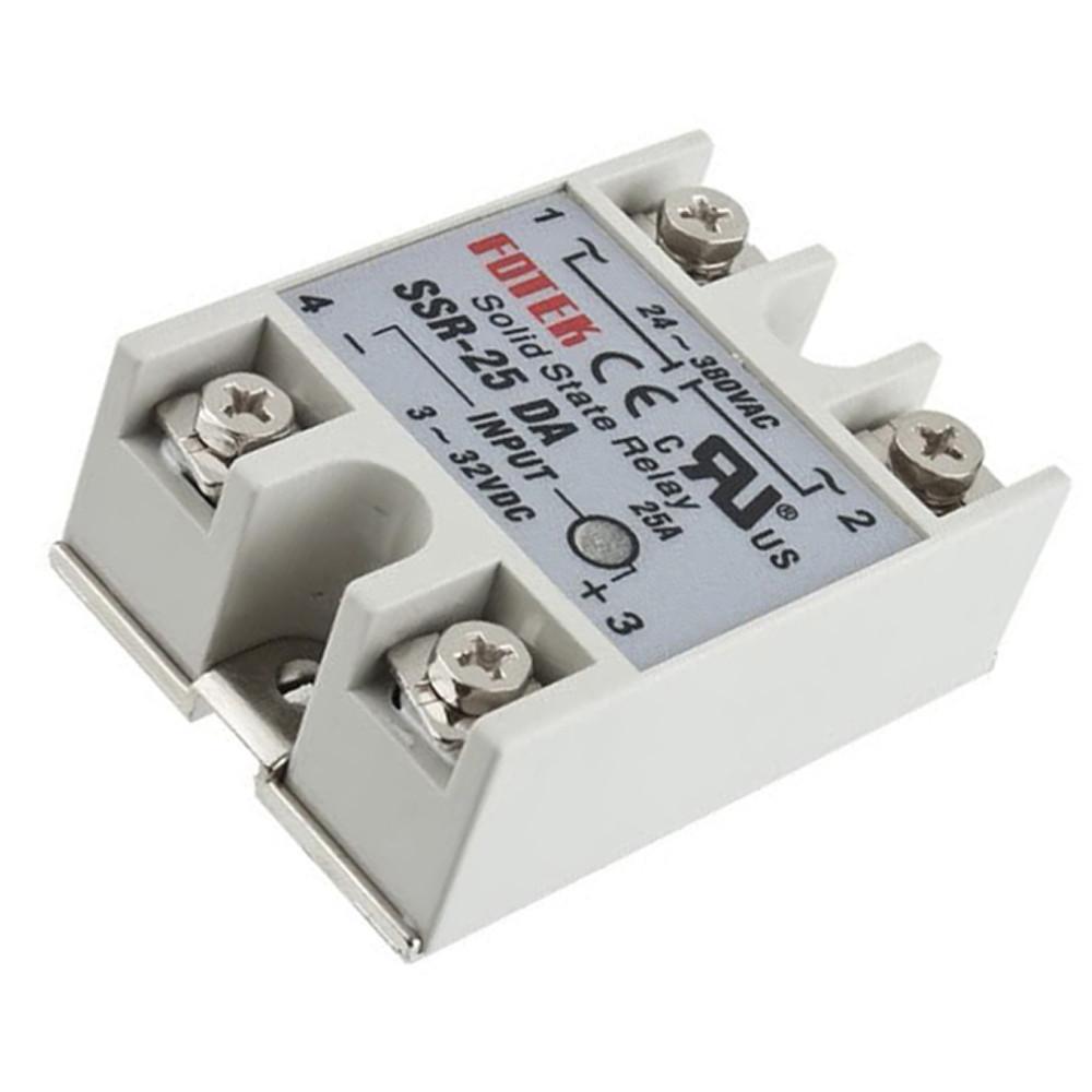 1 Stücke 3-32 V Dc Zu Ac Relaismodul 24 V-380 V 100A 250 V SSR-100 Da Solid kg