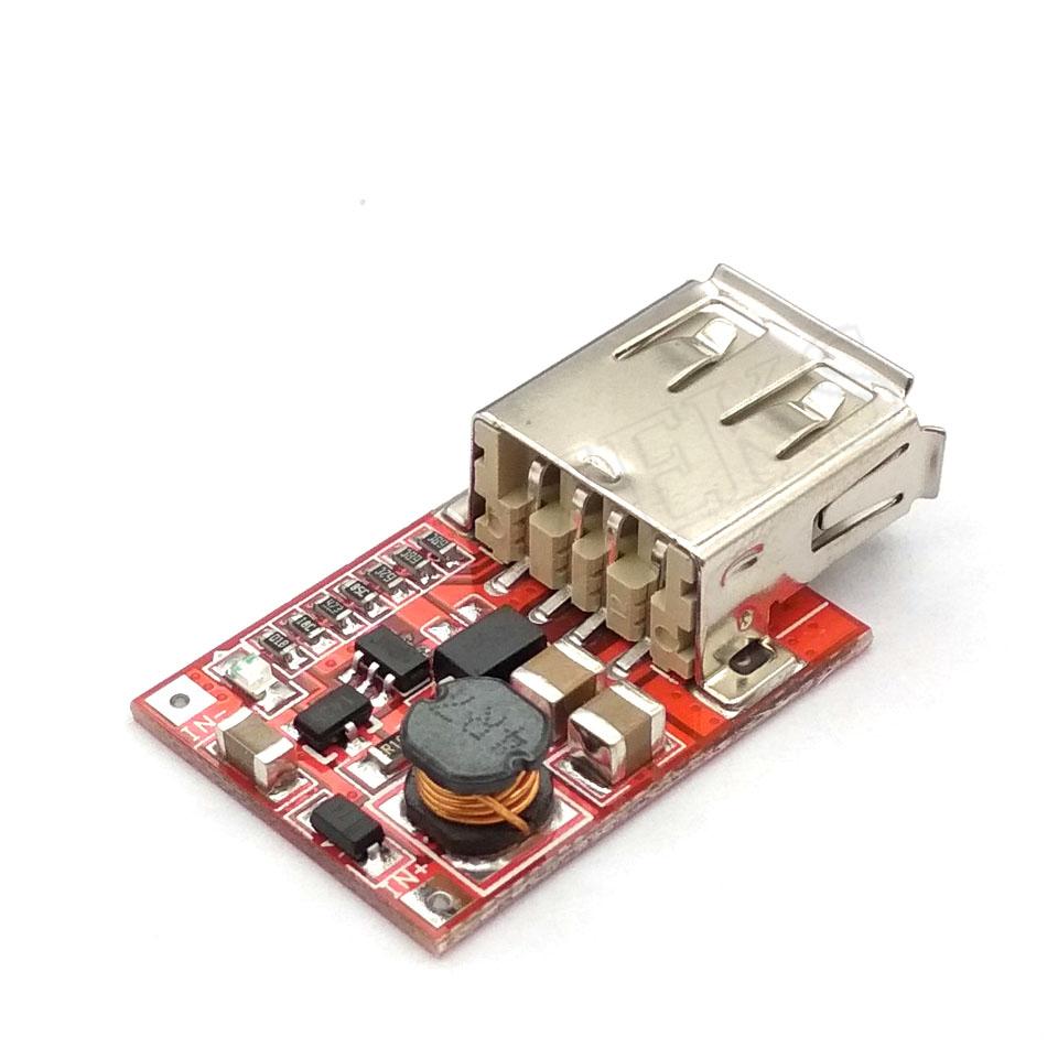 DC-DC Wandler Ausgang Step Up Boost Netzteil Modul 3V bis 5V 1A USB Ladegerät für Telefon MP3 MP4 96% Effizienz