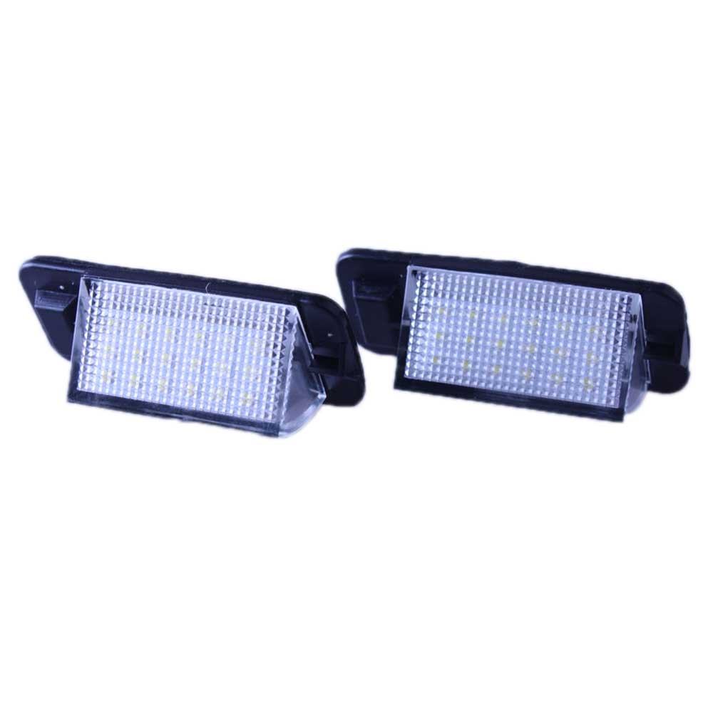 E36 18 Anzahl LED Kennzeichenbeleuchtung Wei/ß