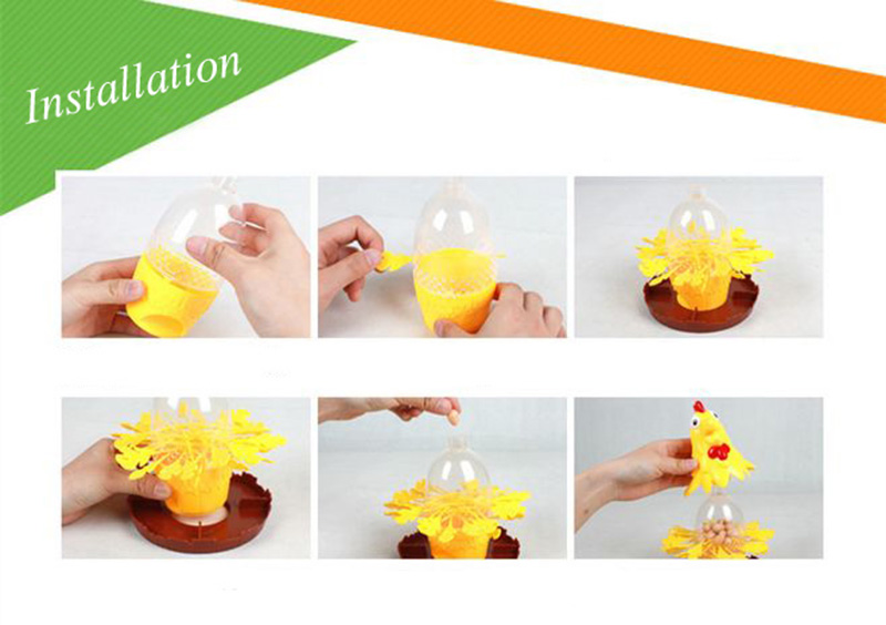 Chicken Don\'t Drop Egg Game Child Exciting Fun Pull Out Feathers Toy Gift Family Educational Parent-Child Interactive Game Toys (4)