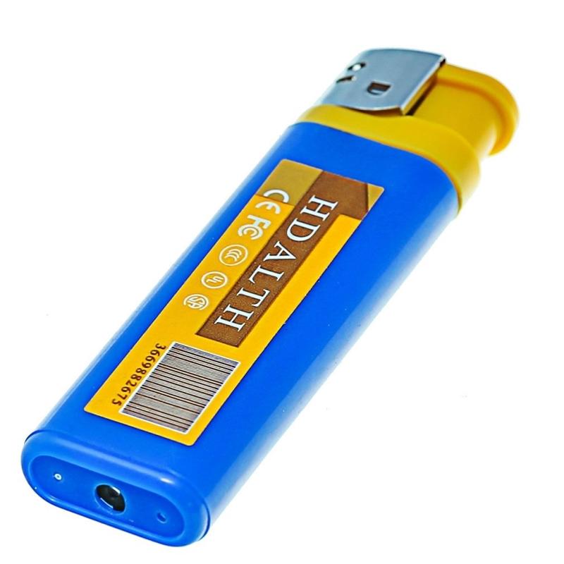 Videocamera Mini DV Mini DV Pocket Lighter Videocamera di sicurezza Videocamera Registratore portatile Accendisigari Videoregistratore Mini Videocamera Mini DVR