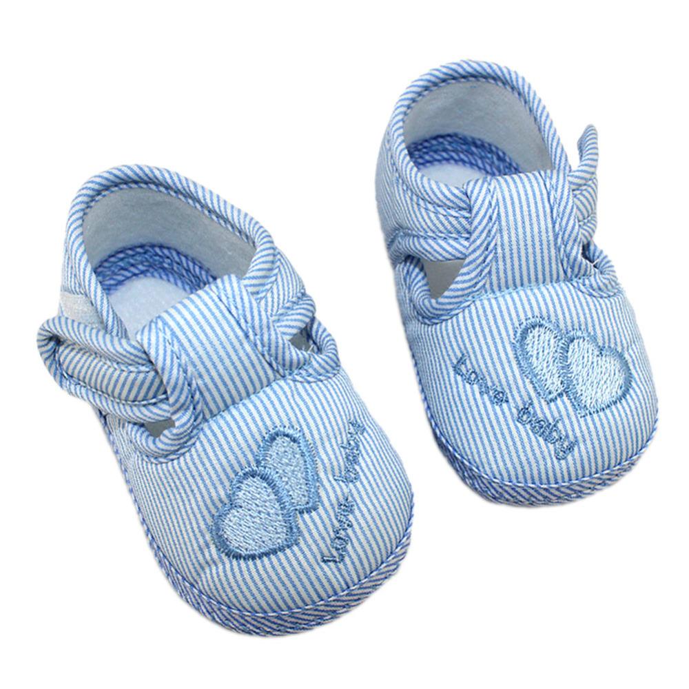 Nouveau-né Garçon Fille Bébé Crib Chaussures Semelle Souple PreWalker Sneakers 0-12 Papillons
