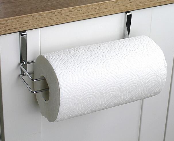 Womao simple papier toilette titulaire Rétro Rouleau Tissu titulaire tout en laiton avec mur