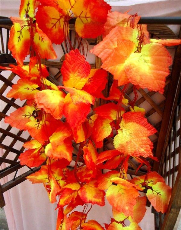 La pelliccia artificiale decorativa Boston Ivy-Decorazione da appendere 12 pezzi