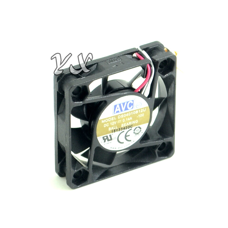 For AVC 6025 12V Computer CPU Cabinet Power Fan DS06025R12H 6cm Speed Measurement Silent Fan