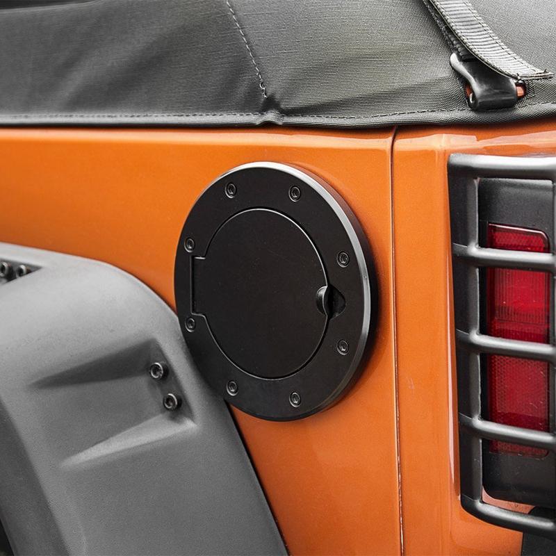 Fuel Filler Cover Gas Tank Cap 2//4 Door For 07-16 Jeep Wrangler JK New USA
