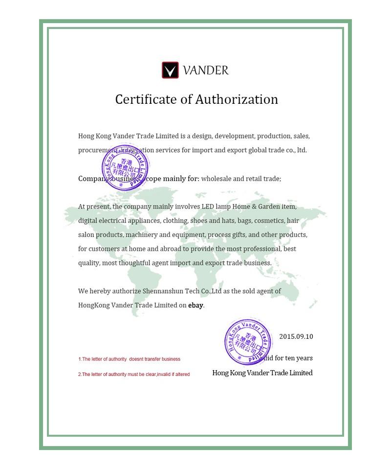 Vander certificate-1