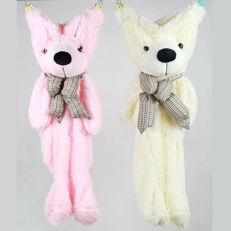 Teddy Bear Skins Plush Soft Toy Dolls Giant empty Bear animal skins shell for kids Cute Peluche Animal Stuffed Toys Gifts (6)